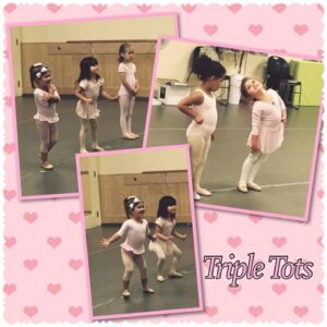 Triple Tots Dance Class for toddlers