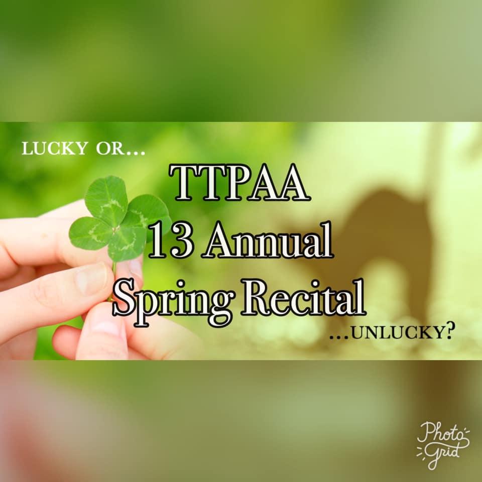 13th Annual Spring Recital